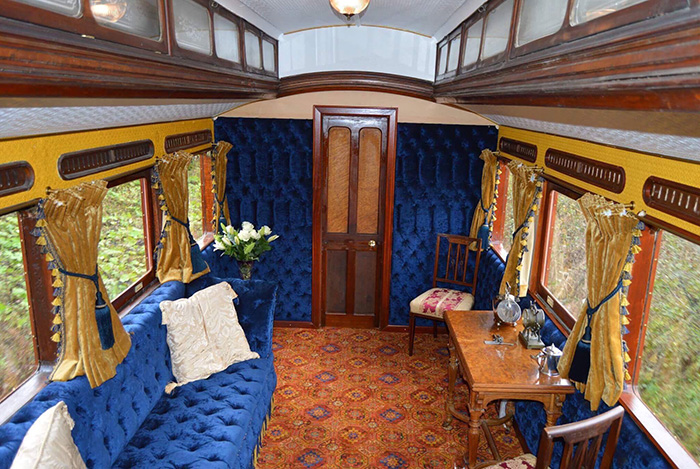 Queen Victoria's Royal Saloon - LSWR Saloon Number 17